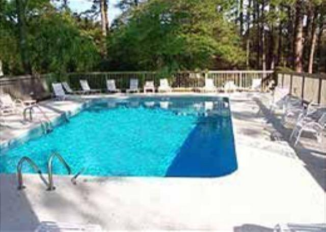 Pool at Harbor Town Club - 4BR/4BA Villa Remodeled, Brand New Furnishings to Appliances to Fresh Paint - Hilton Head - rentals