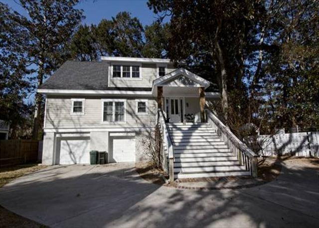 Lagoon Road 29 - Located 2 Blocks from Beach, 4BR/3BA Pet Friendly Home with Screened Porch - Forest Beach - rentals
