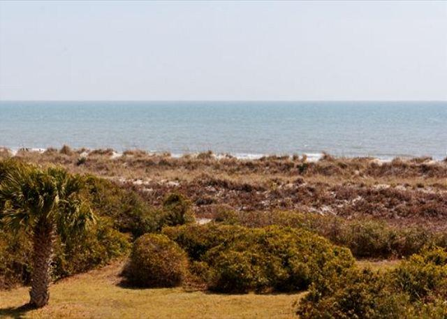 Oceanfront View - 5BR/4BA Epitome of Bright and Airy Beach Home with Panoramic Oceanfront View - Palmetto Dunes - rentals