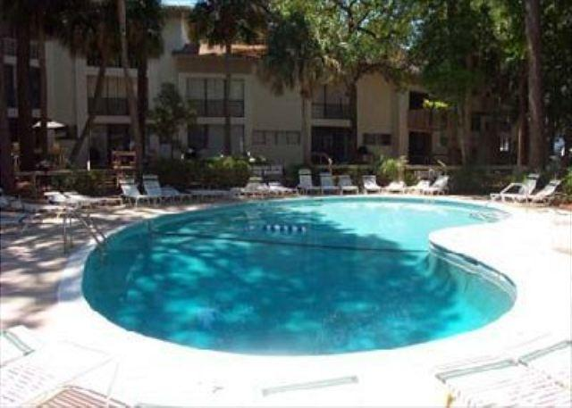 Pool at Sea Scape - 3BR/2BA Townhouse has the Whole Package and is Located by Coligny Plaza - Forest Beach - rentals