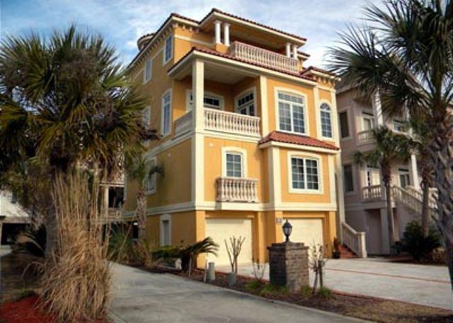 Singleton Beach 91 - Luxurious 4BR/4.5 BA Three-Story Home has Panoramic Ocean and Marsh Views - Palmetto Dunes - rentals