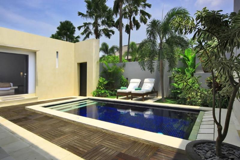 Private Pool & Sunbeds - B09 Staffed 1BDR + Private Pool - Seminyak - rentals