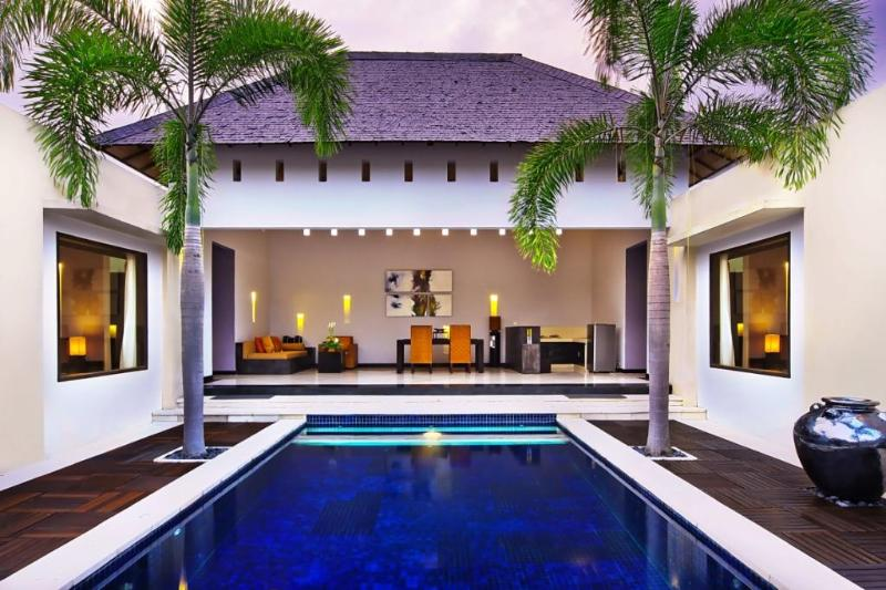 Open Plan Living & Dining Area Oversees the Private Pool - B10 Staffed 2BDR + Private Pool - Seminyak - rentals