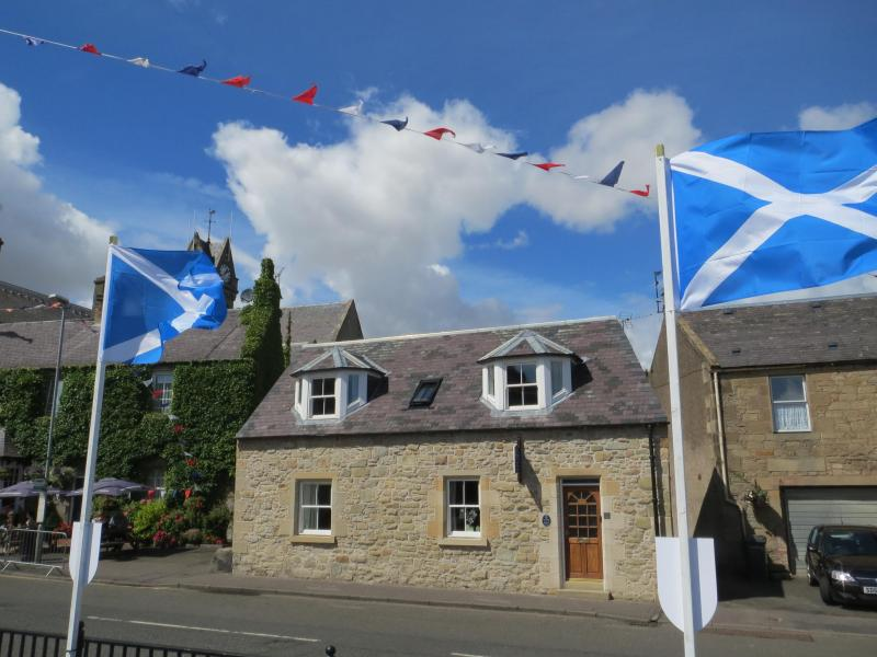 Exterior of Cottage - Little Bethel Stone Holiday Cottage in Scottish Borders - Coldstream - rentals