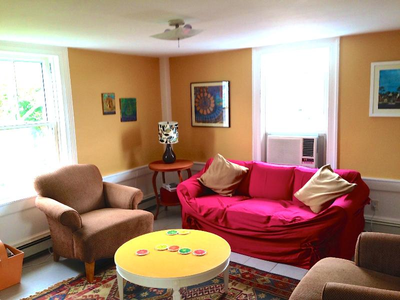Living room - Wonderful West End, Beautiful Water Views! - Provincetown - rentals