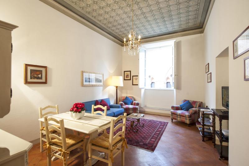 Living room - Palazzo Cinotti  Family Suite - Siena - rentals