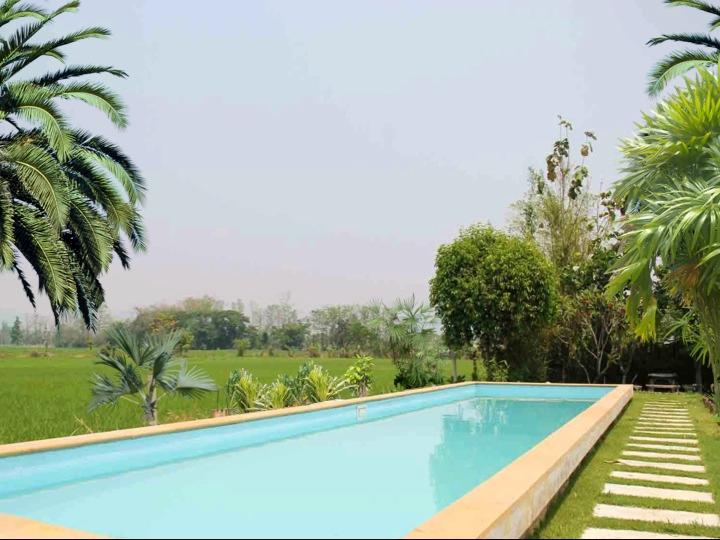 Stunning Private Villa 6BD7BA - Pool & Gardens over Rice Fields - Image 1 - Chiang Mai - rentals