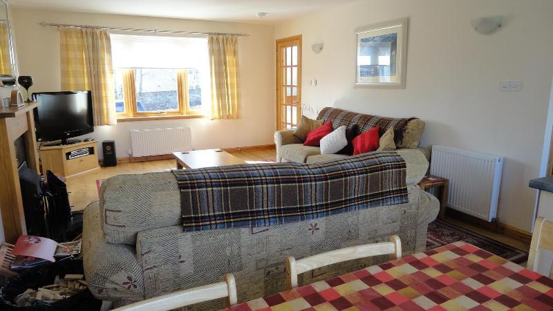 Living Room - The Strathspey Lodge, Grantown on Spey - Grantown-on-Spey - rentals