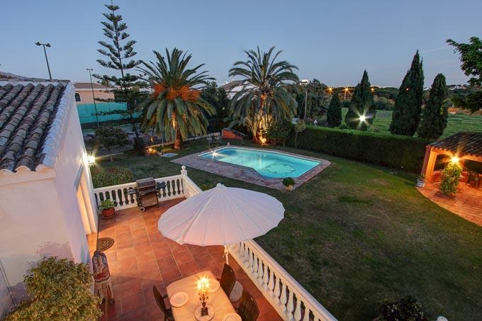 Luxury Villa with Private Tennis Court - Image 1 - Estepona - rentals