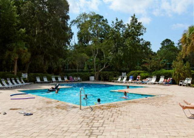 Pool at Evian - Second Floor 2BR/2BA Villa is Spacious and Pleasantly Decorated - Forest Beach - rentals
