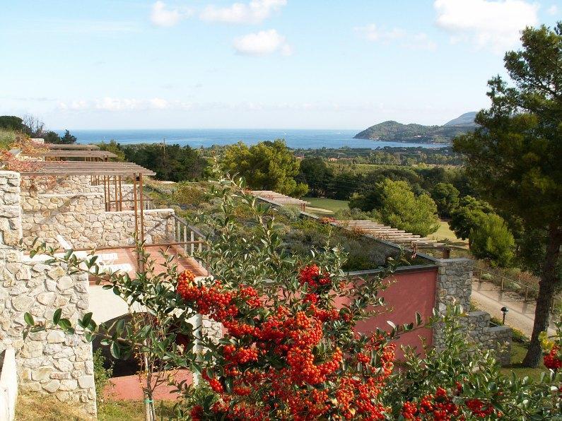 Two rooms apartment with sea view - Image 1 - Portoferraio - rentals