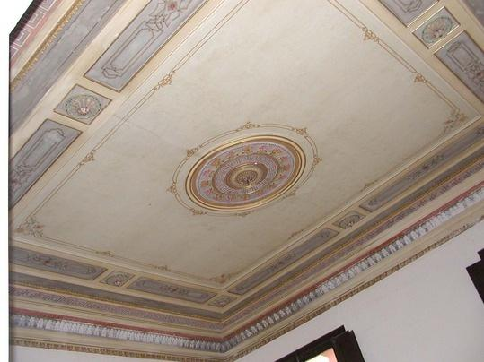 Amazing ceiling in the diningroom - Grand Apartment next to Plaza Real - Barcelona - rentals