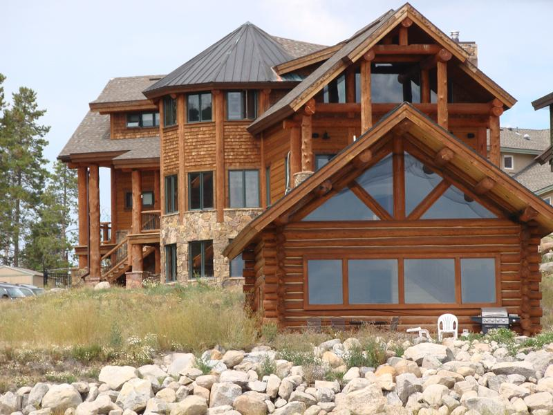 View from lake - Lakefront Estate on 2nd biggest lake in Colorado! - Granby - rentals