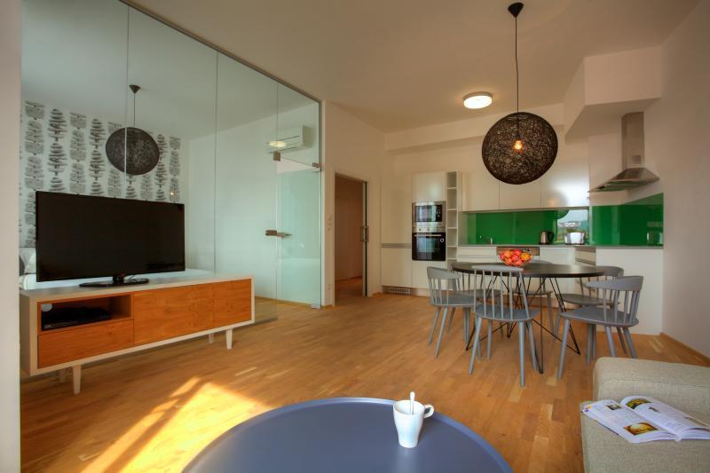 Two-Bedroom Balcony Apartment - Two-Bedroom Balcony Apartment - Prague - rentals