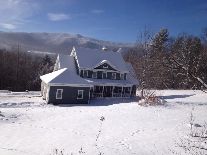 House in the winter - Beautiful 6 Bedroom home with amazing views! - Fayston - rentals