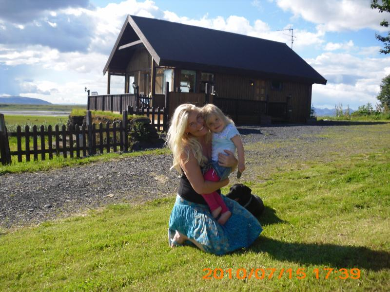 The cabin and the great view - Fjall Cabin - Skalholt - rentals