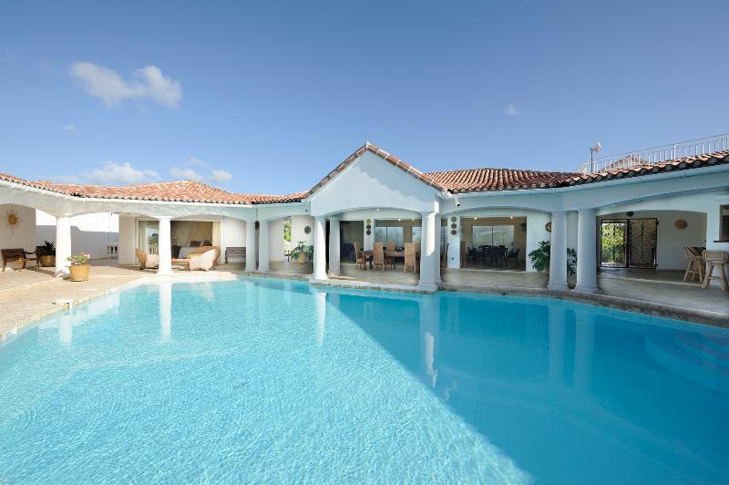 Villa & pool - Great villa 5 bedrooms, Low lands, Terres basses - Saint Martin - rentals