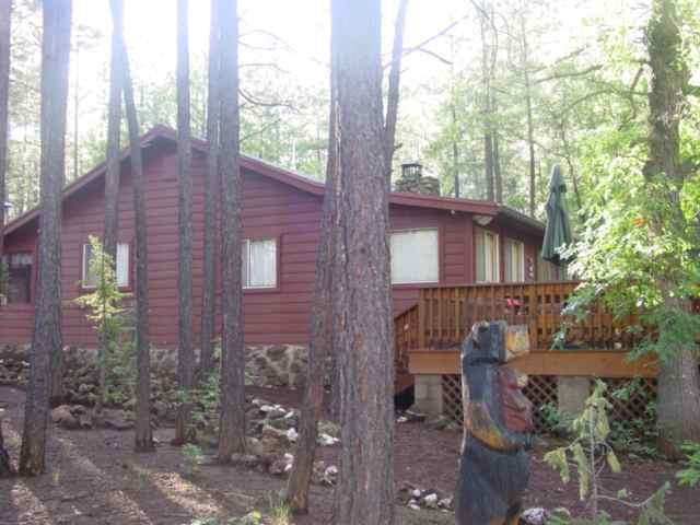 Front of Home - Enjoy the Tall Pines from the Large Deck - Pinetop - rentals