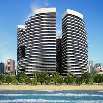 Condo on the beach! 1403t3 Landscape! - Image 1 - Fortaleza - rentals