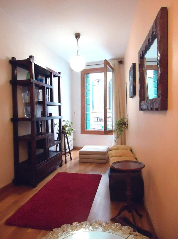 living room - Ca' dei Greci, comfortable apt, few steps from San Marco - Venice - rentals