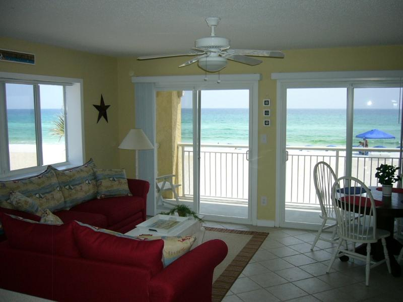 Living Room w/ Panoramic Views of the Gulf - MEMORIAL DAY SPECIAL! $555 FOR 2 NIGHTS! BOOK NOW! - Fort Walton Beach - rentals