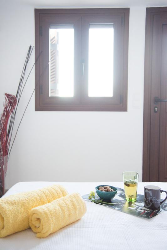 master bedroom - Basilum-Morfi Village - Exopoli - rentals
