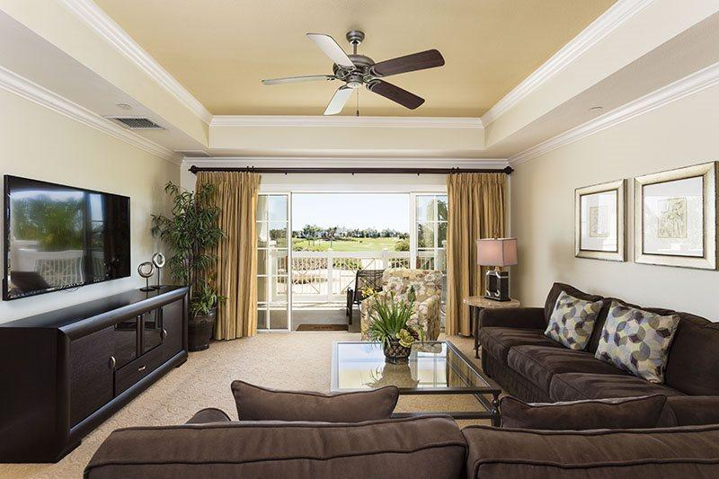 Direct access to your private balcony from the living room - Centre Court Deluxe - Luxury 3 Bed Condo with AMAZING VIEWS! - Reunion - rentals