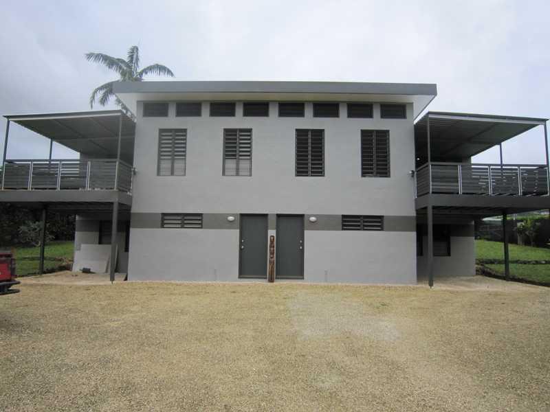 FRONT VIEW BOTH UNITS - TASSIRIKI HOLIDAY HOME - Port Vila - rentals