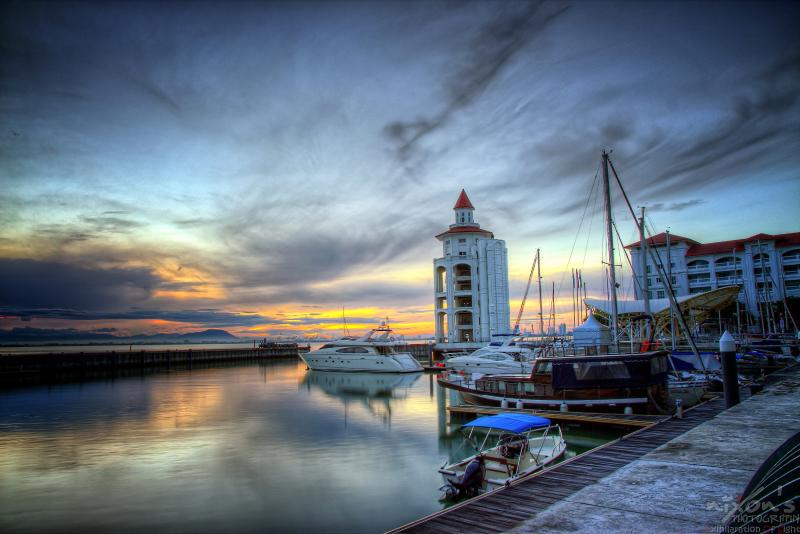 Sunset at the Quay - Penang Luxury Waterfront Serviced Apartment - Penang - rentals
