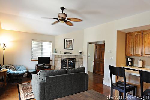 Kitchen Living Room - Mountain View Terrace - Ojai - rentals