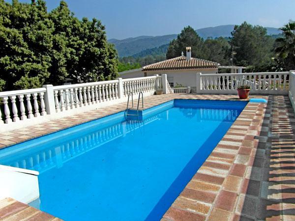 Pool - Apartment with private pool and free Wi-Fi - Simat de la Valldigna - rentals