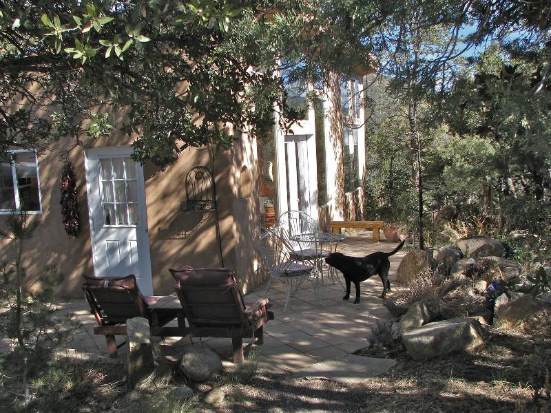 Outside view of house - In Historic Pinos Altos, ten min from Silver City! - Pinos Altos - rentals