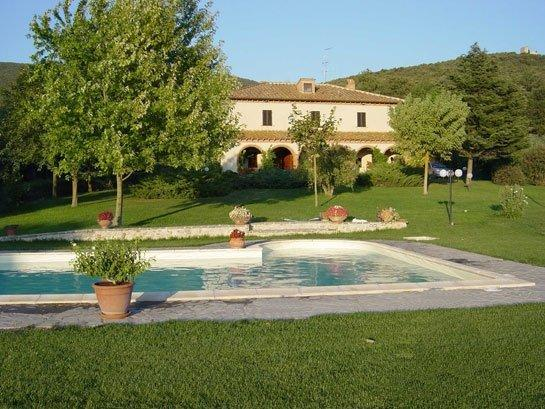 Backside - AGRITURISMO SAN VALENTINO FOR UN UNFORGETTABLE HOLIDAY IN UMBRIA! - Amelia - rentals