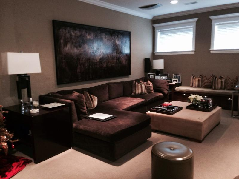 Media room - Luxury Home in West Lakeview - Chicago - rentals