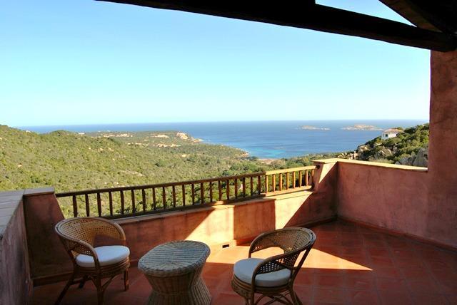 Veranda with panoramic view - Porto Cervo - Brand new apartment in residence - Porto Cervo - rentals