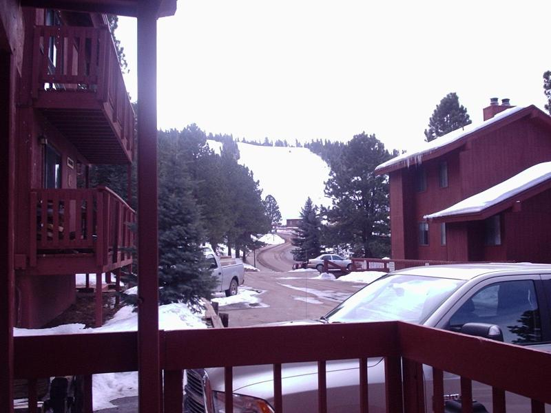 View of the slopes - Location Location Location .... - Angel Fire - rentals