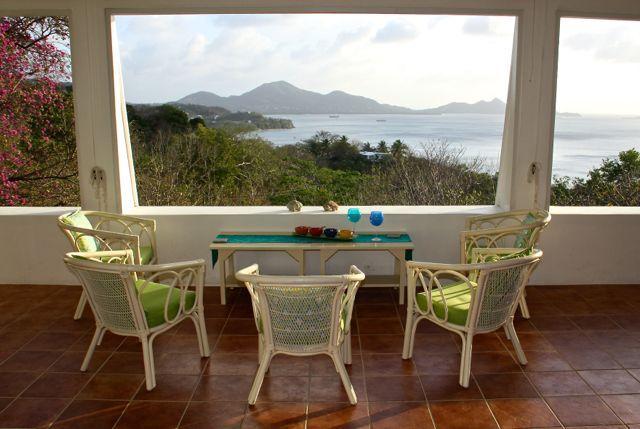 Terrace - Honey Hill Villa at Anse la Roche, Carriacou - Carriacou - rentals