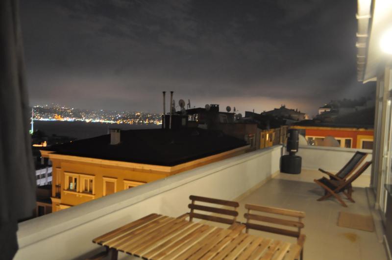 Flat w XL Terrace+Bosphorus View !! - Image 1 - Istanbul - rentals