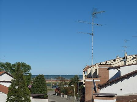 Sea view from the balcony of villa - Villetta a Schiera 200 metri dal mare - Comacchio - rentals