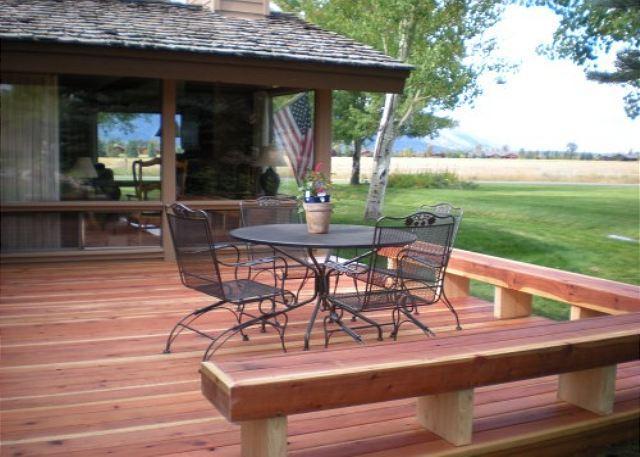 Deck - Golf Creek 31 - Beautiful unit with Fantastic Views - Jackson - rentals