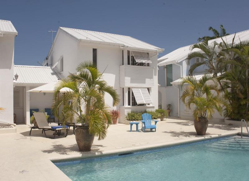 House and pool - Villa in Porters  St.James, Barbados ,Caribbean - Porters - rentals