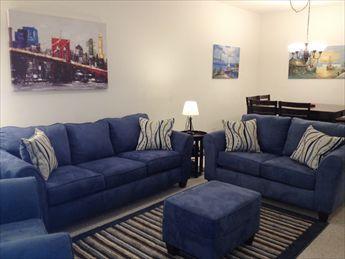 Living Room - View 1 - Beach Block Condo - Ocean Haven Unit G - North Wildwood - rentals