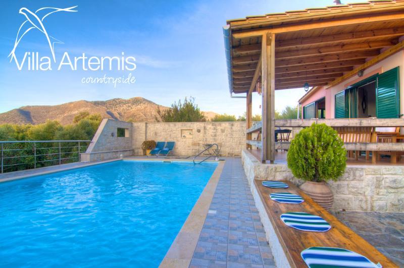 Pool of 50m2! - Villa Artemis, great pool! - Melidoni - rentals