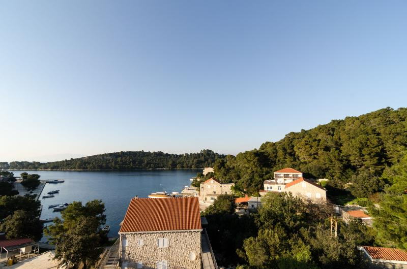 View from balcony - Apartment with balcony and sea view - Govedari - rentals