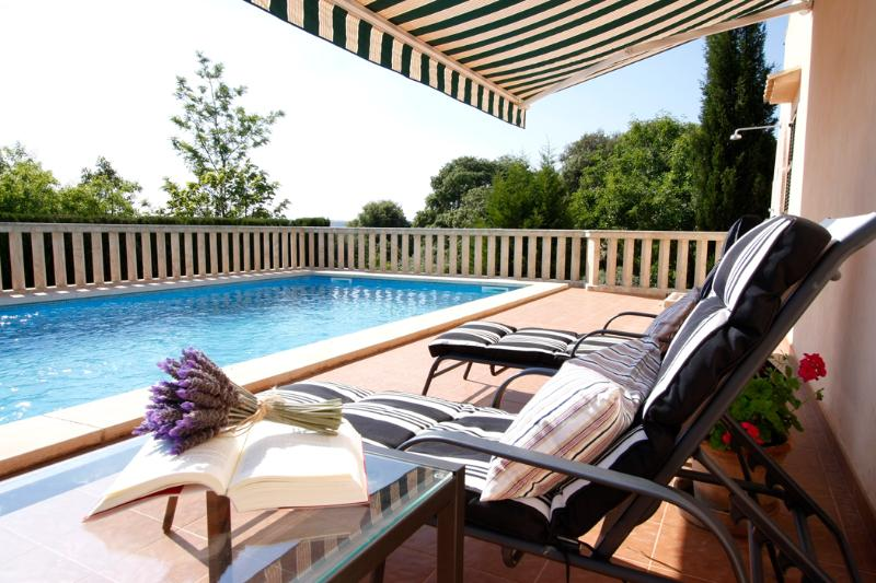 Nice house with frutals trees and private pool - Image 1 - Son Macia - rentals