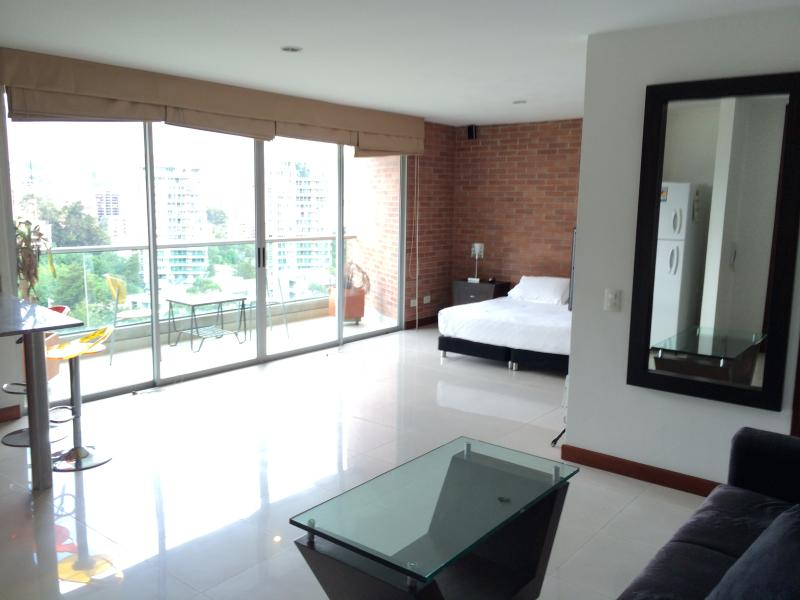 LLERAS 1bed/2ba Pool, Views, Park, WALK Everywhere - Image 1 - Medellin - rentals