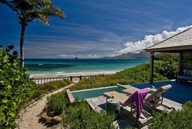 Oceanfront Beach Bungalow - NEW StKitts Oceanfront Beach Bungalow RATE SPECIAL - Saint Kitts - rentals