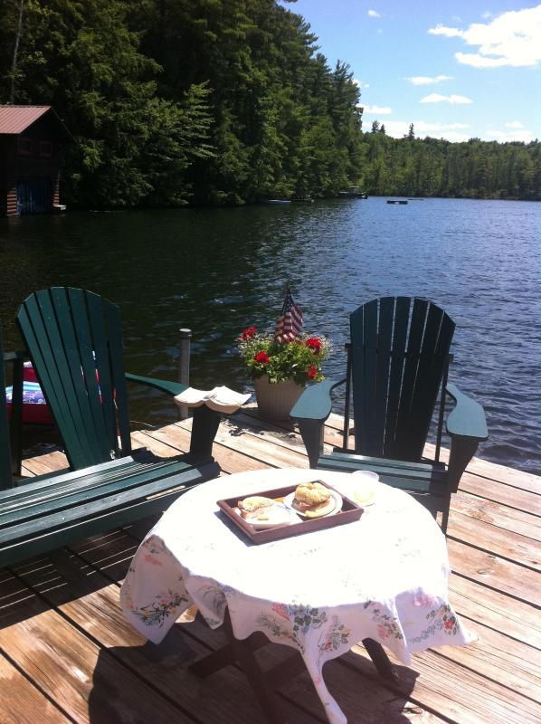Dock - Atateka Point Lodge and Treehouse Guest Cottage - Chestertown - rentals
