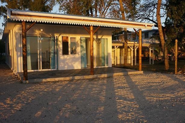 Veranda - Blu Horizon beach cottage - Baie du Tombeau - rentals