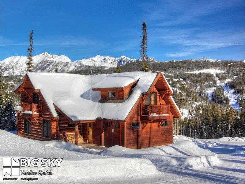 Powder Ridge Rosebud 21 (Cabin 21) - Image 1 - Big Sky - rentals